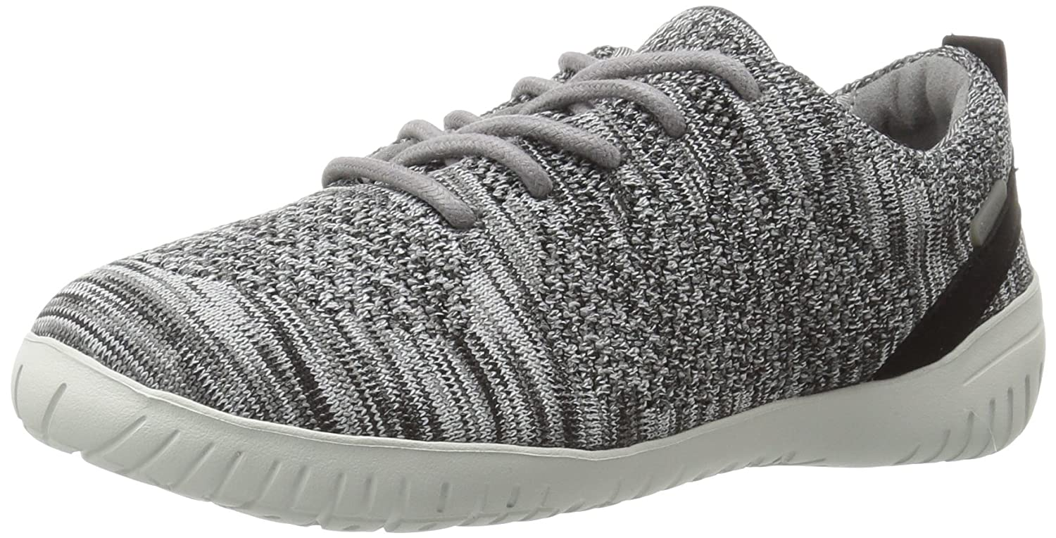 Rockport Women's Raelyn Knit Tie Fashion Sneaker B01JMKJQQM 8 B(M) US|Black Heather