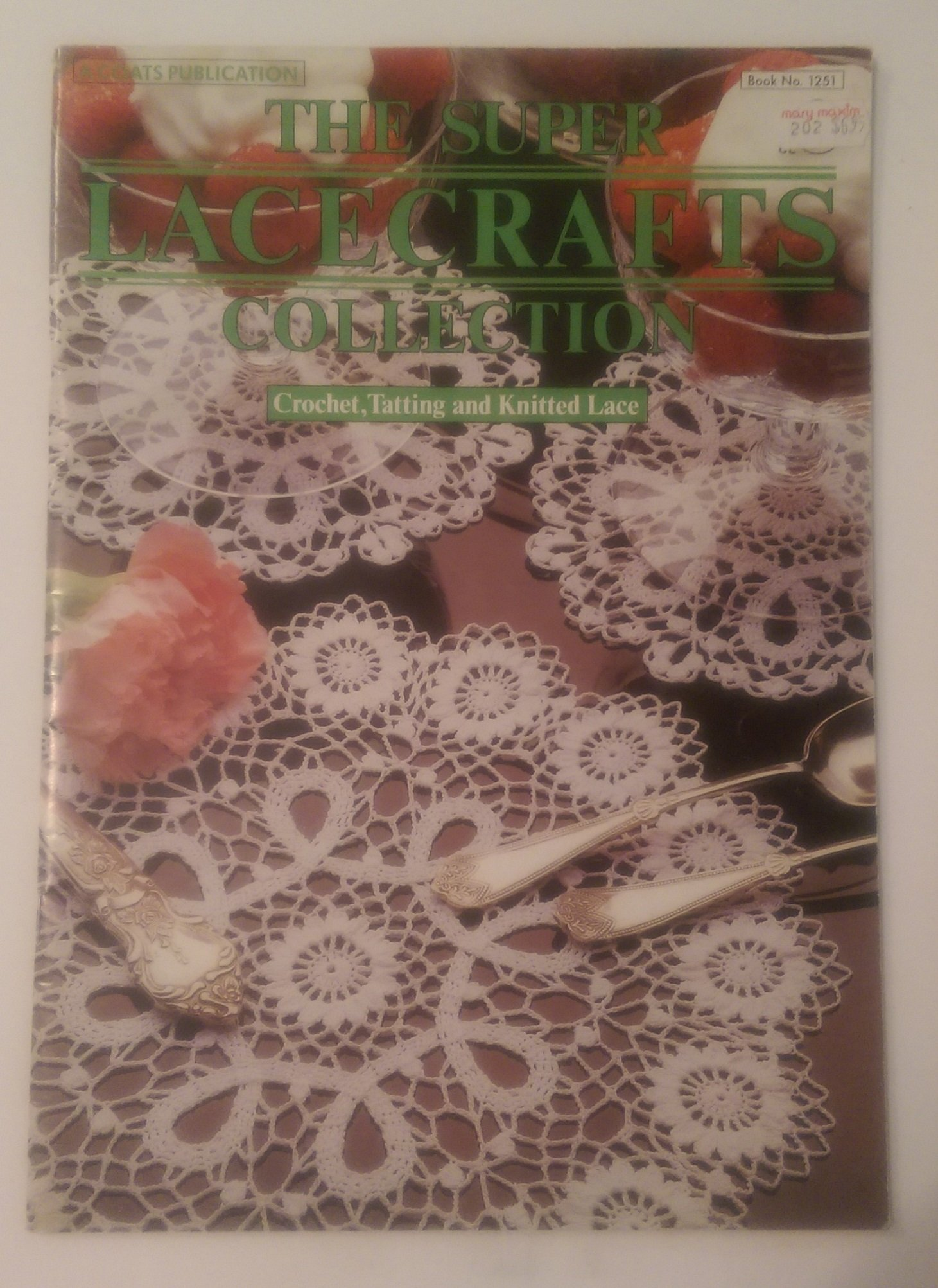 The Super Lacecrafts Collection Crochet, Tatting and Knitted Lace: Editor  Debra Mountford: Amazon.com: Books