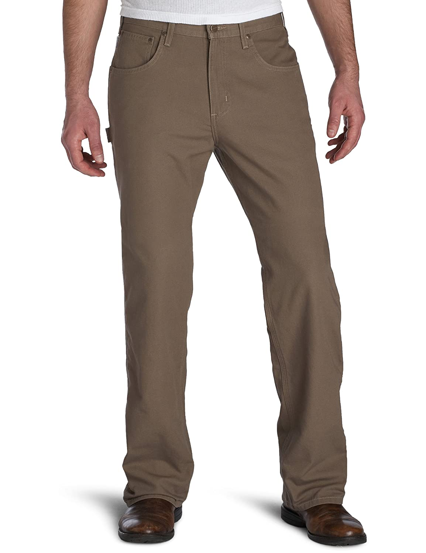 Carhartt B159 大工用パンツ メンズ ゆったりフィット 5つのポケット付き キャンバス生地 B000LVG3QS 40W x 32L|マッシュルーム マッシュルーム 40W x 32L