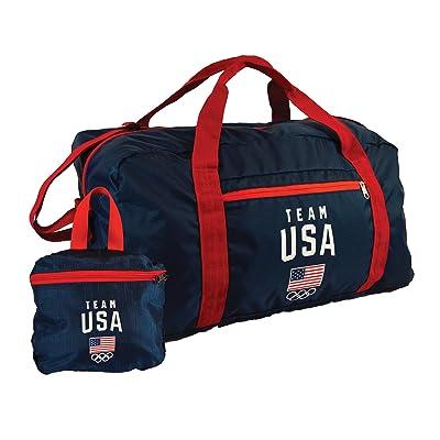 Team USA Foldable Duffle Bag - Navy