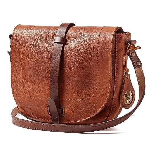 Will Leather Goods Women s Seneca Crossbody - Tan Bridle Leather ae423f011