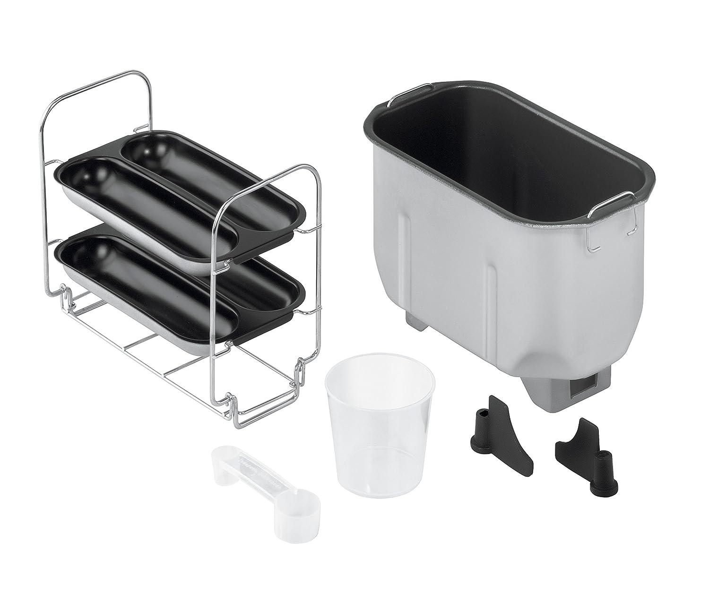 Concept PC-5060 - Panificadora (800W, 220-240 V, 24 cm, 41 cm, 24 cm) Negro, Acero inoxidable: Amazon.es: Hogar