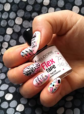 Belcore flex tape peel off liquid nail tape peel off base coat belcore flex tape peel off liquid nail tape peel off base coat nail art liquid prinsesfo Image collections