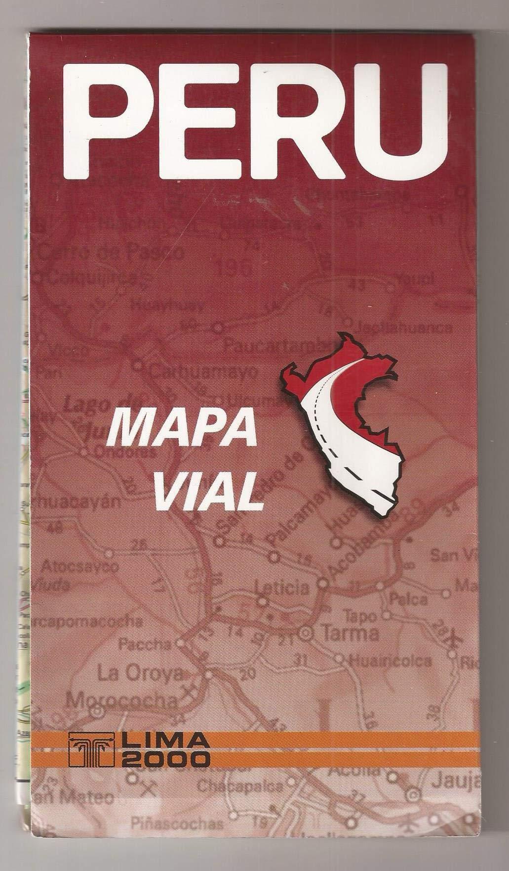 Peru Road Map with City Maps / Peru Mapa Vial con planos de ciudades ebook
