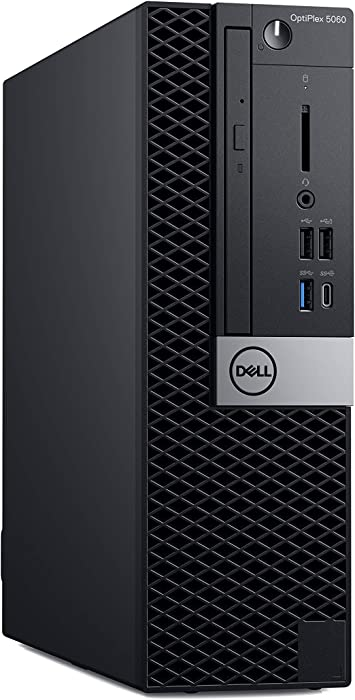Dell OP5060SFF2WR5F OptiPlex 5060 SFF Desktop Computer with Intel Core i5-8500 3 GHz Hexa-core, 8GB RAM, 256GB SSD
