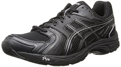 Asics Men's Gel-Tech Walker Neo 4 Walking Shoe,Black/Black/Silver