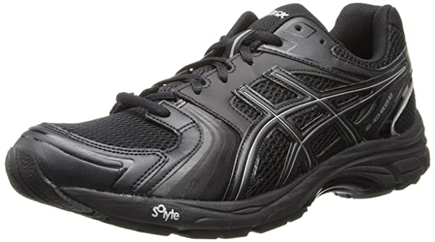 new style cc625 2252b Scarpe da camminata Neo 4 Gel-Tech Walker uomo Asics, Nero   Nero   Argento,  7,5 M US  Amazon.it  Scarpe e borse