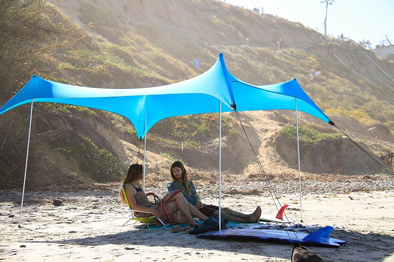 coins renforcés et poche réfrigérée Grande tente de plage Neso Tents 9 pi 2,1 m 2,7 m de hauteur x 2,7 m 7 pi 9 pi