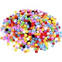 2000 Piezas 8 mm de Pompones para Materiales