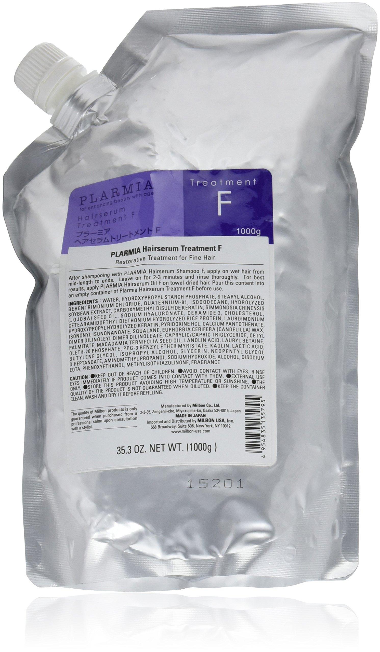 Amazon.com : Milbon Plarmia Hairserum F Shampoo Size 33.8 oz : Beauty