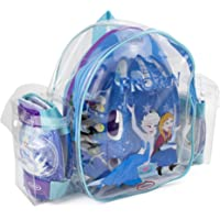 Frozen - Bolsa con casco, rodilla y codo pads (D'Arpèje OFRO004) para niña