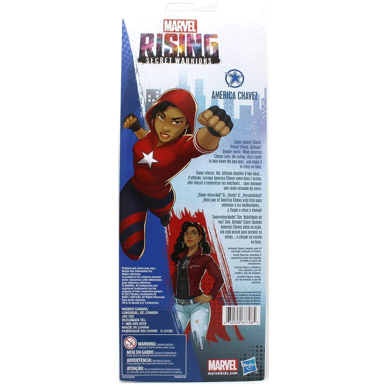 Marvel Rising Secret Warriors America Chavez 11 Adventure Action Figure Doll Hasbro