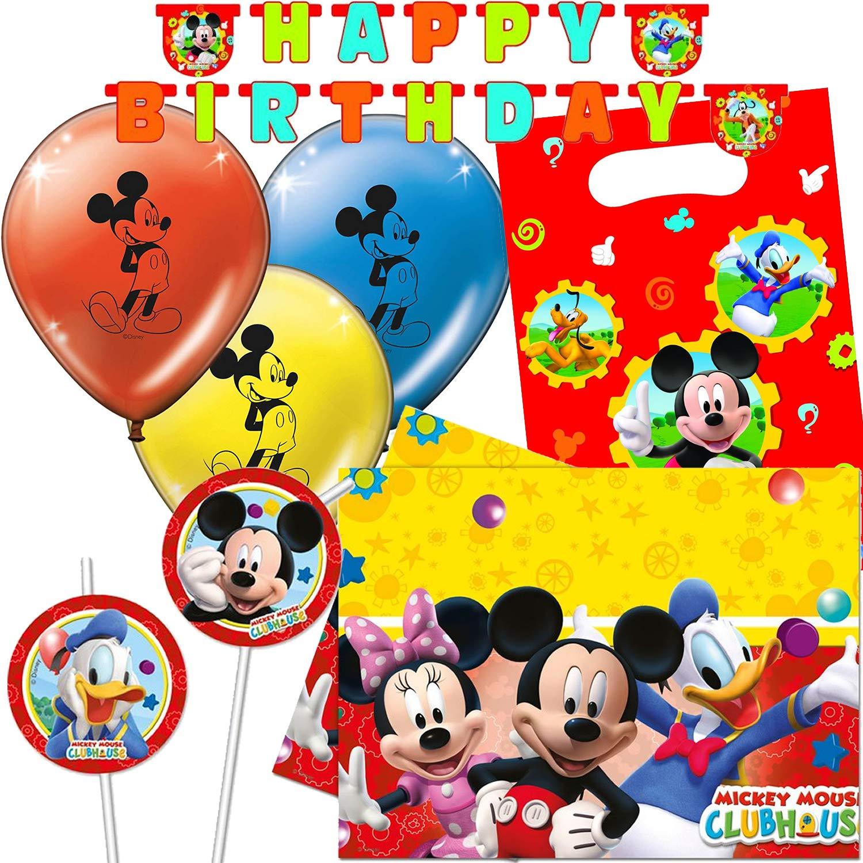 Procos/Carpeta de 47 Piezas Set de Fiesta * Mickey Mouse ...