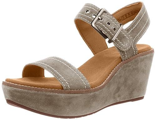 2ab288dce66 CLARKS Womens Sandal Aisley Orchid Sage 3.5 D  Amazon.co.uk  Shoes   Bags