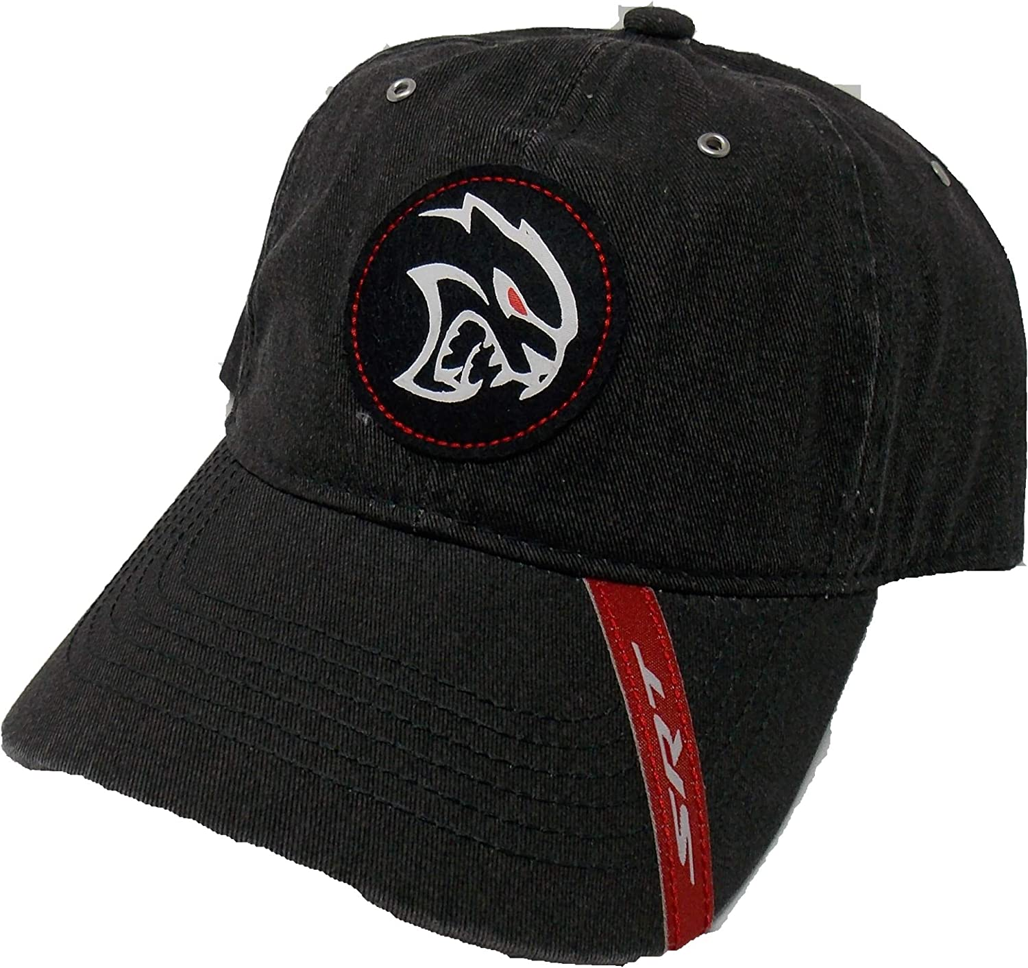 One Size Fits Most Black//Grey SRT Dodge Hellcat Two Tone Cap