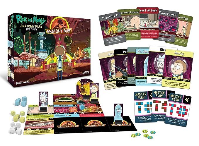 Cryptozoic Entertainment Rick and Morty Anatomy Park Game