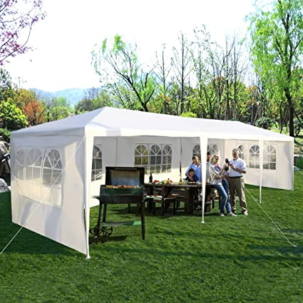 Amazoncom Tangkula 10x30 Outdoor Canopy Tent Heavy Duty Party