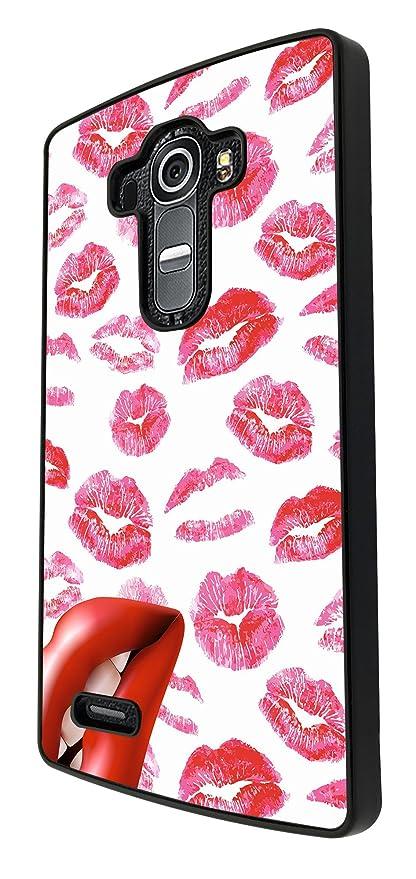 880 Multi Kisses Cool Lipstick Lips Design For Lg G3 Amazon