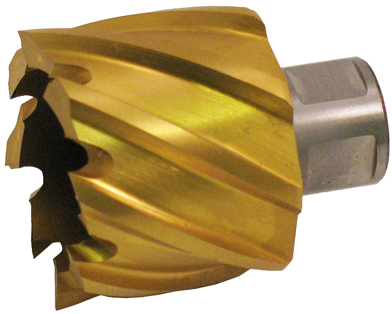 3//4 Depth Finish Uncoated Jancy Slugger High Speed Steel Annular Cutter 1//2 Annular Shank 1-1//16 Diameter Bright