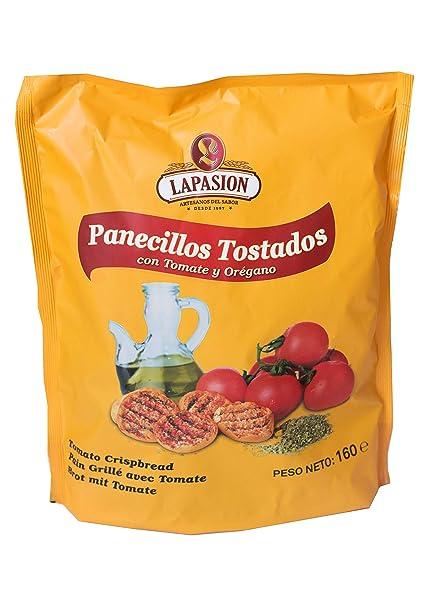 LAPASION - Panecillos tostados con tomate y orégano 160g por ...