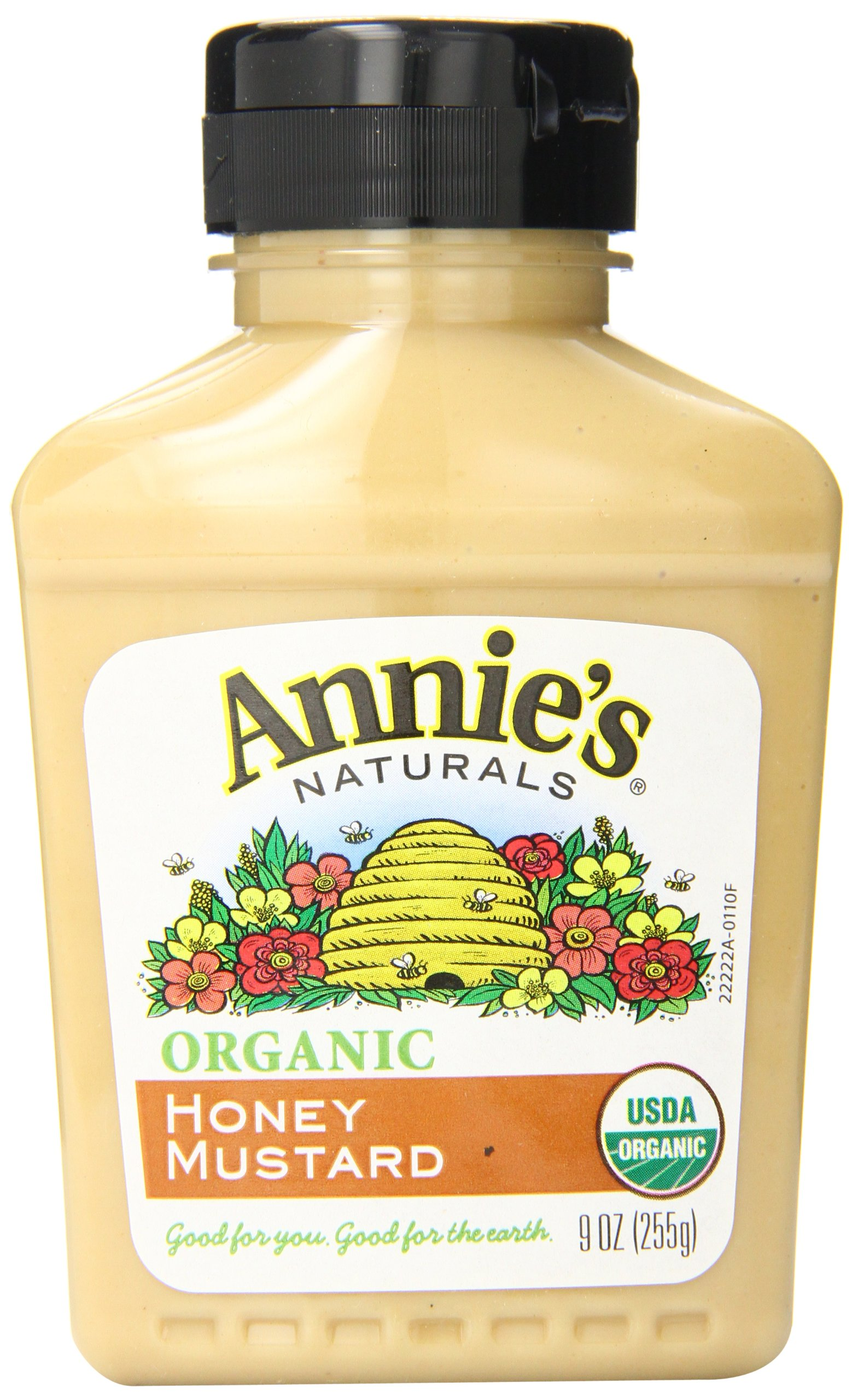 Annie's Naturals Organic Mustard, Honey, 9 Ounce (Pack of 12)