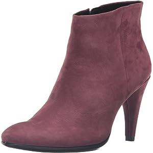 37f8a995 Amazon.com   ECCO Women's Women's Shape 75 Bootie Boot, Warm Grey ...