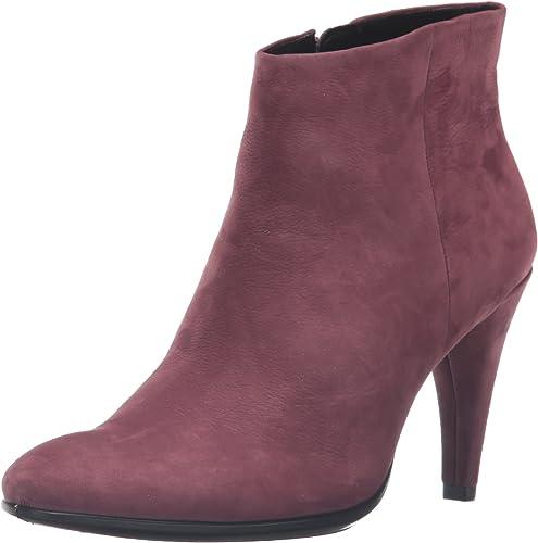 ECCO Damen Shape 75 Sleek Kurzschaft Stiefel, violett