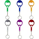 Swatom Tennis Racket Bottle Opener with Keychain