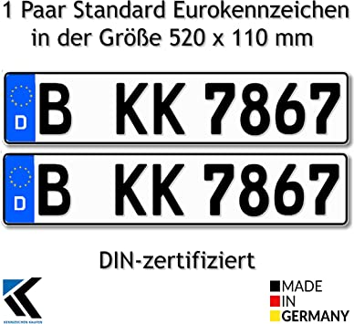 targa per euro