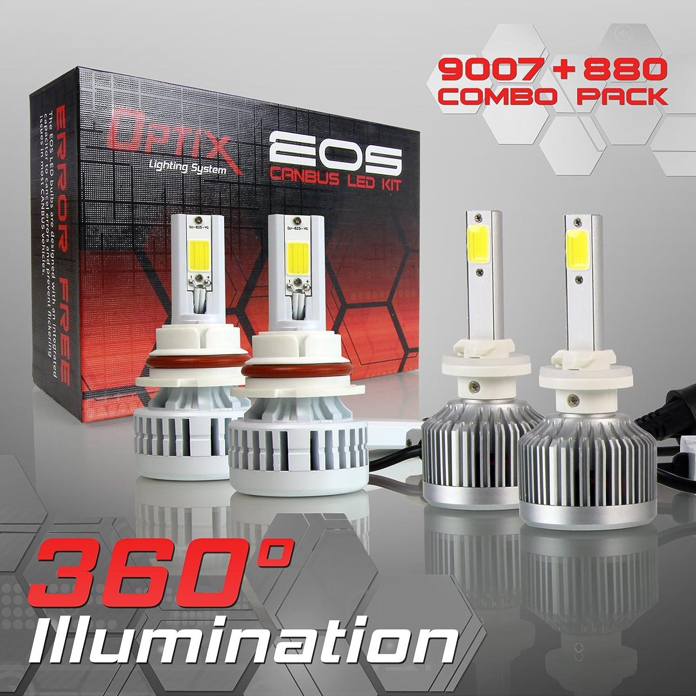 6000k Bright White 30W T10 LED Fog Light Front Corner Side Lights Bulbs