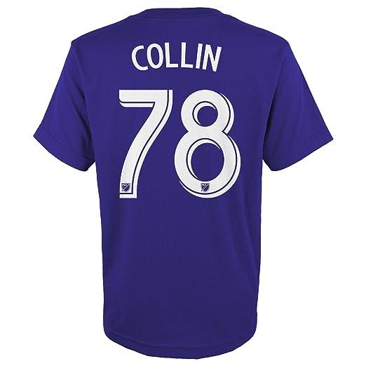 14-16 Large MLS by Outerstuff Youth Boys Short Sleeve Fan Nation Tee Regal Purple