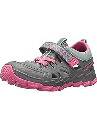 8bd2b92bb5b7 Merrell Kids Girls Hydro 2.0 Slide Sandals