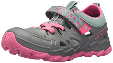 ad7a9aa2 Merrell Kids' Hydro 2.0 Sandal, Grey, 10 Wide US Toddler