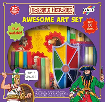 Galt Toys Horrible Histories over 100 pieces Awesome Art Set