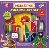 Galt Toys Horrible Histories Awesome Art Set