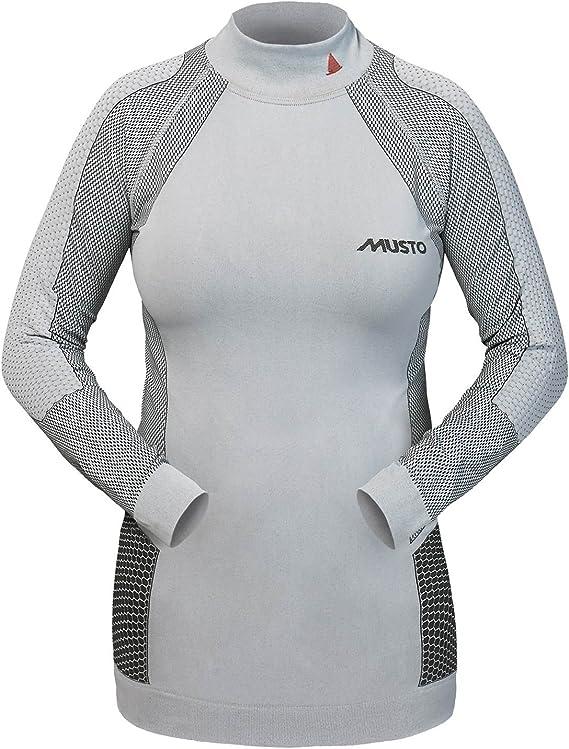 Musto SU0210 - Camiseta térmica para mujer: Amazon.es: Deportes y aire libre