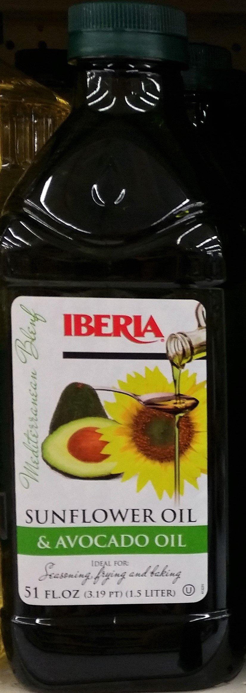 Iberia Avocado and Sunflower Oil (1.5 Liter)