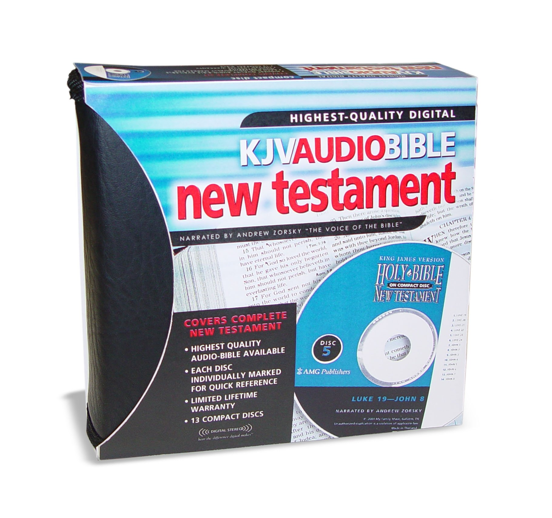 Holy Bible: King James Version Audio Bible New Testament on