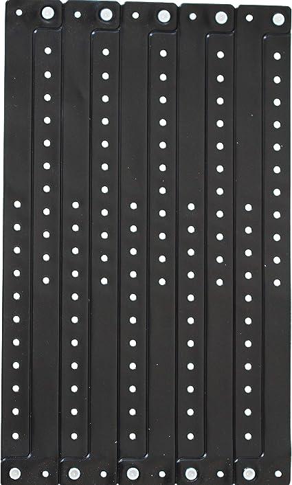 Set di 100 bracciali in plastica//vinile per eventi Oro personalizzabili e impermeabili