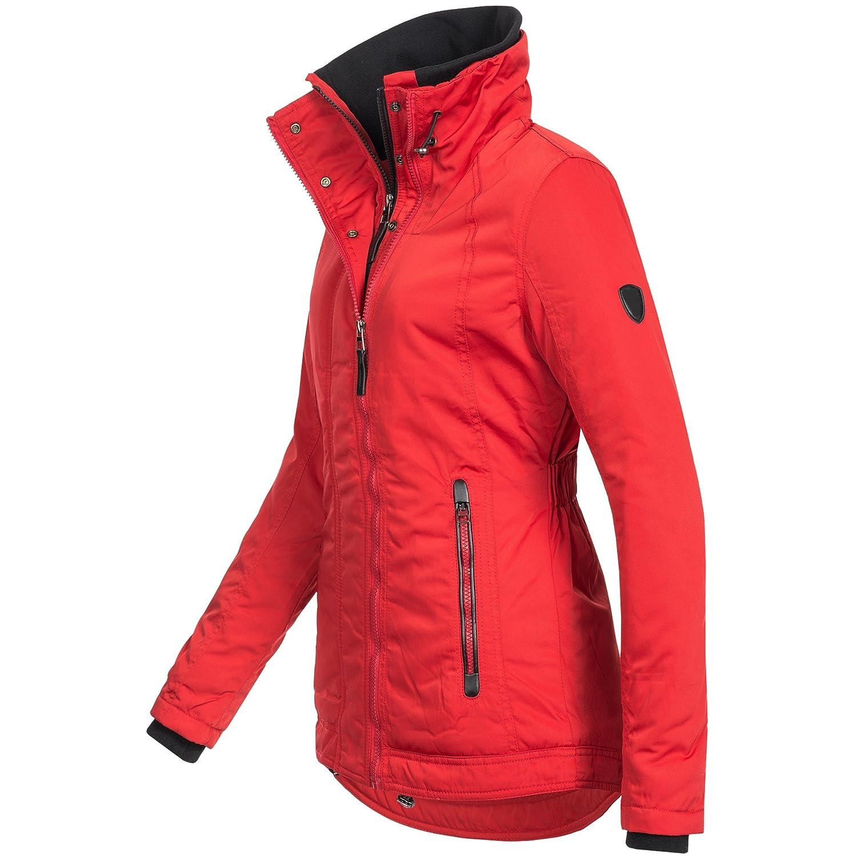 Bol Damen Winterjacke Parka Winter Jacke Doublezipper warm 15693 S XXL 3Farben