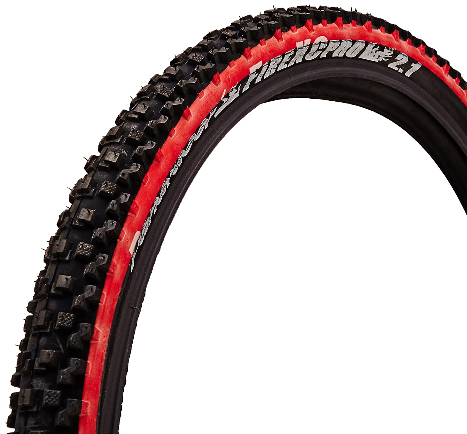 Amazon.com : Panaracer Fire XC Pro Bicycle Tire (Wire Bead, 26x2.1 ...