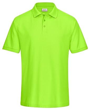 ec5cdfa093c8 CaptainWorkwear Poloshirt Piqué Unisex für Damen und Herren - Kurzarm  T-Shirt Einfarbig - Erhältlich in Vielen Größen  Amazon.de  Bekleidung