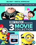 Despicable Me 1-3 Boxset (2D Blu-Ray + digital download) [2017]