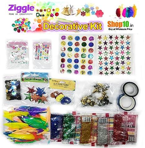 Buy Ziggle Decoration Diy Kit For Kids Craft Ideas Booklet 17