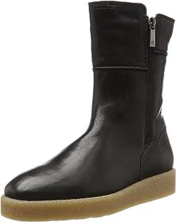 Marc O' Polo Flat Heel Bootie 80114076001100, Bottes Souples Femme, é (Silver 165), 38 EU