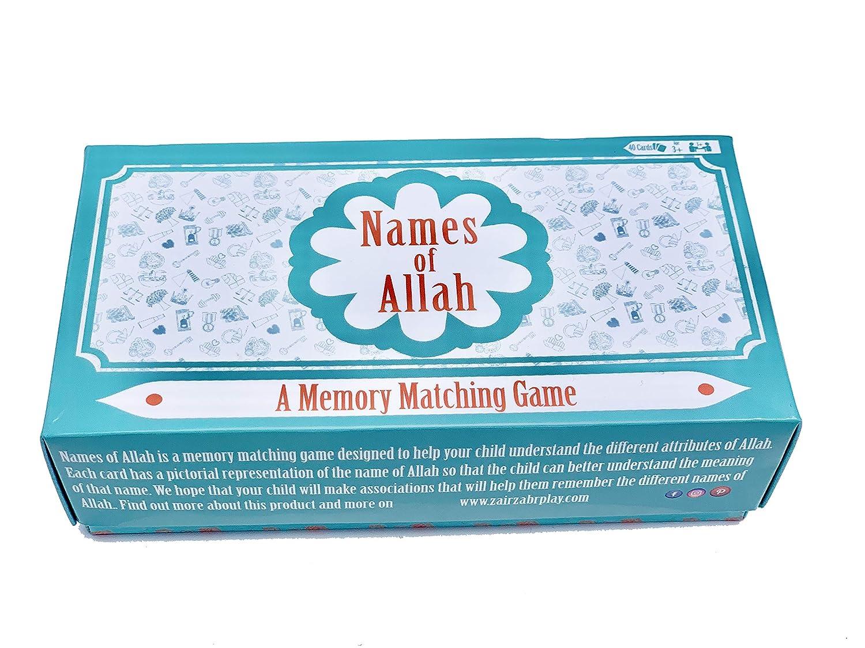 Zair Zabr Play | Names of Allah | A Memory Matching Game