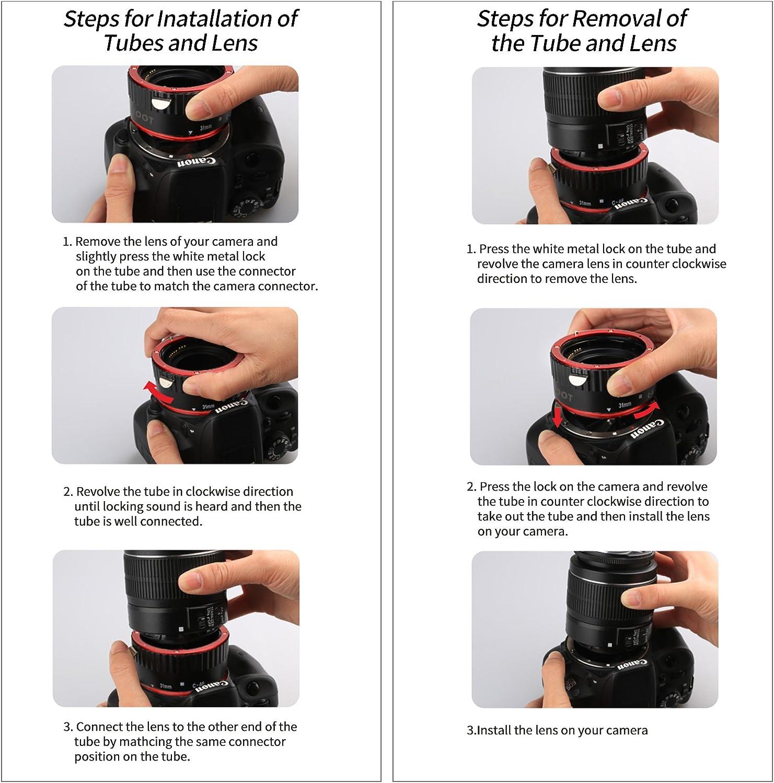 Macro entre anillos para Canon EOS 1d 1ds 1d x 1d C 5d 6d 7d Mark II N III IV 7