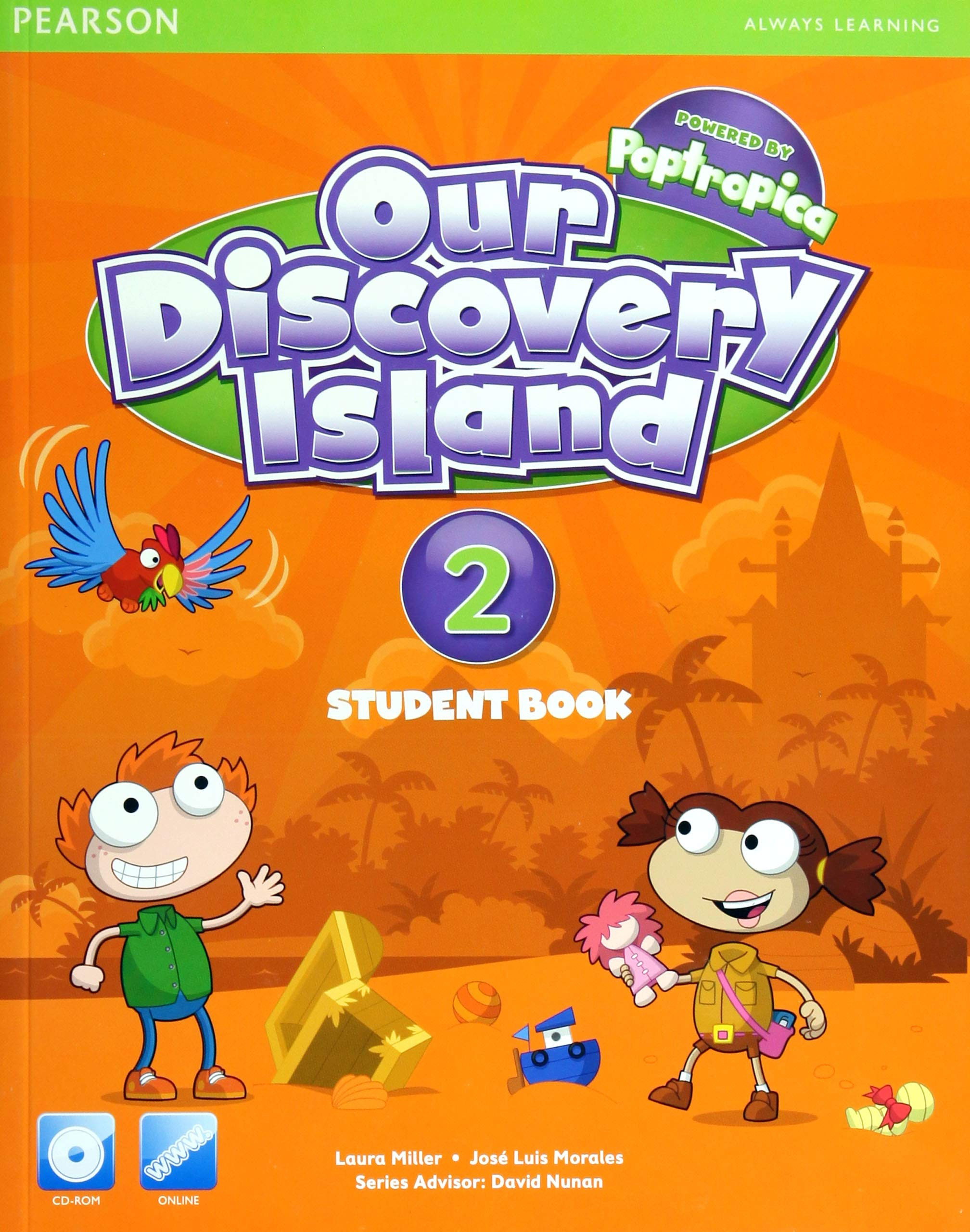 OUR DISCOVERY ISLAND LEVEL 2013 STUDENT EDITION (CONSUMABLE) WITH        CD-ROM LEVEL 2 pdf