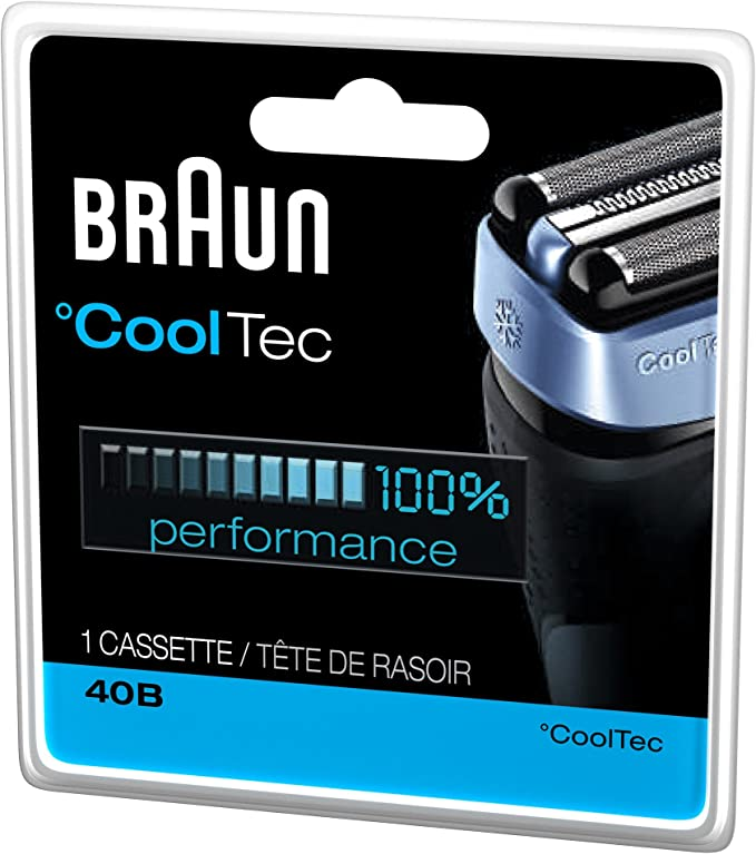 Braun 40B - Cabezal de cuchilla de repuesto para maquinillas de ...