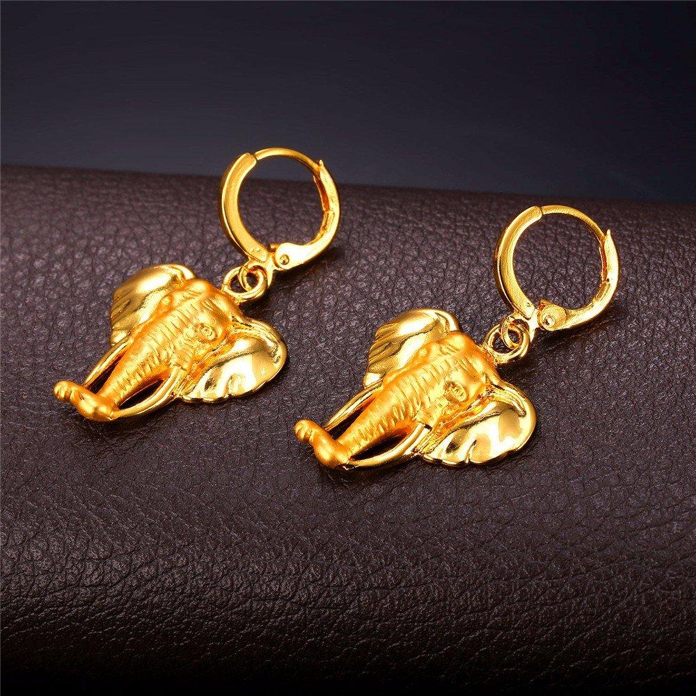 VirtualStoreUSA.com Cute Elephant Dangle Earrings